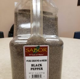 Pepper, black, table grind, 5 lb