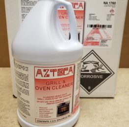 Azteca Oven/Grill cleaner, 4/1 gal
