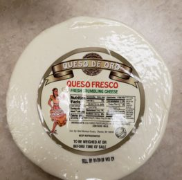 Queso Fresco wheel, 5lb