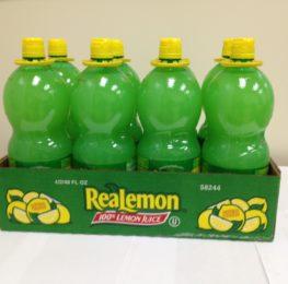 Real lemon juice,8/48, Borden