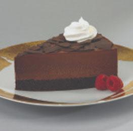 Chocolate Mousse Cake, 2/14 pc cake