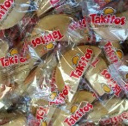 Cookies, Takitos, fortune style, 350 count