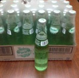 Soda, green apple, mundet, 24/11.2