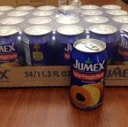 Juice, papaya/ pina, jumex, 24/11.3