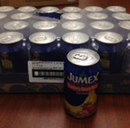 Juice, strawberry/banana, jumex, 24/11.3