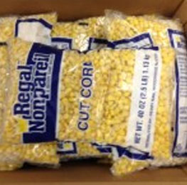 corn, cut, frozen, 12/2.5