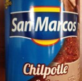 Chipotle sauce, San Marcos, 6/10