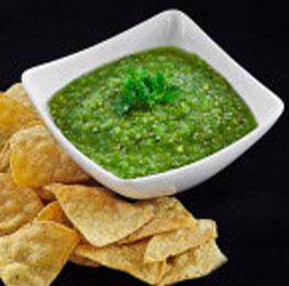 Green sauce, san marcos,6/10