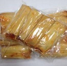 Tamale, chicken, handmade, 5 oz, 12/4