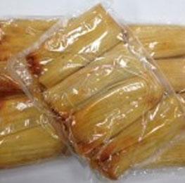 Tamale, pork, handmade, 5 oz 12/4