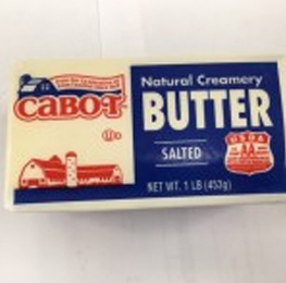 Butter, salted 36/1lb bars per case