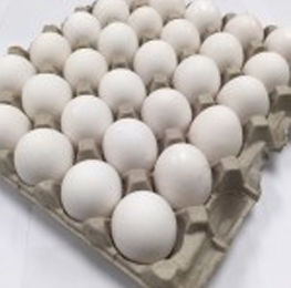 Eggs, grade AA, white, Large 30 doz per case