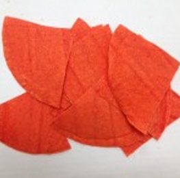 Chip unfried,Orange,4 cut,30lb