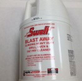"""Oven/Grill cleaner, Swell brand – """"Blast Away"""", 4/1 gal"""