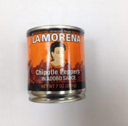 Chipotle canned, La Morena, 24/7 ounce