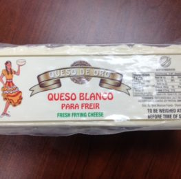 Queso Blanco case, 6/5lb